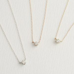 18Kダイヤモンドネックレス66-8977-8979