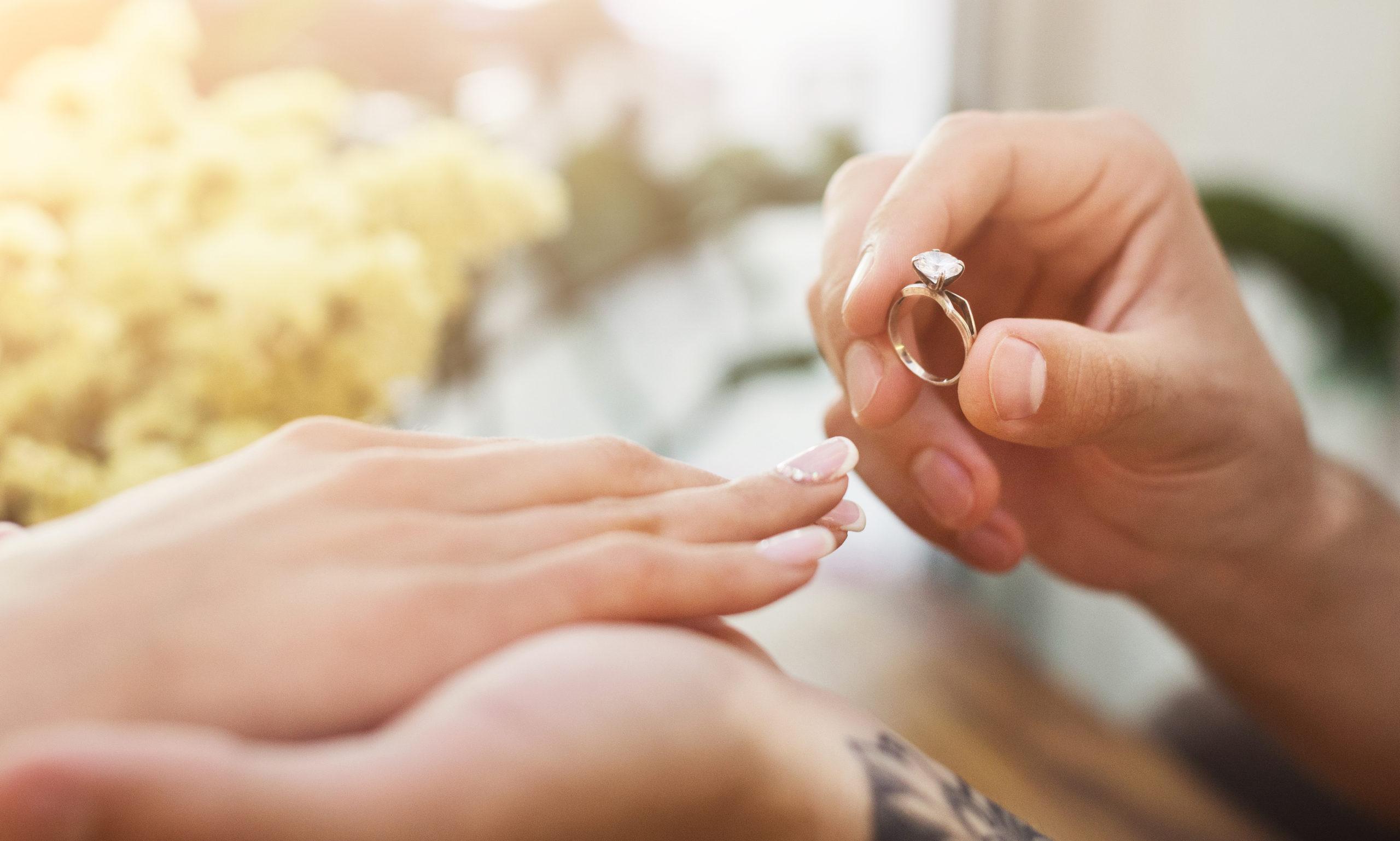 婚約指輪刻印