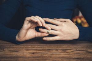 結婚指輪つけっぱなし