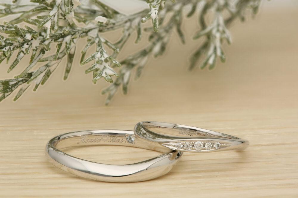 ふたりで作る結婚指輪