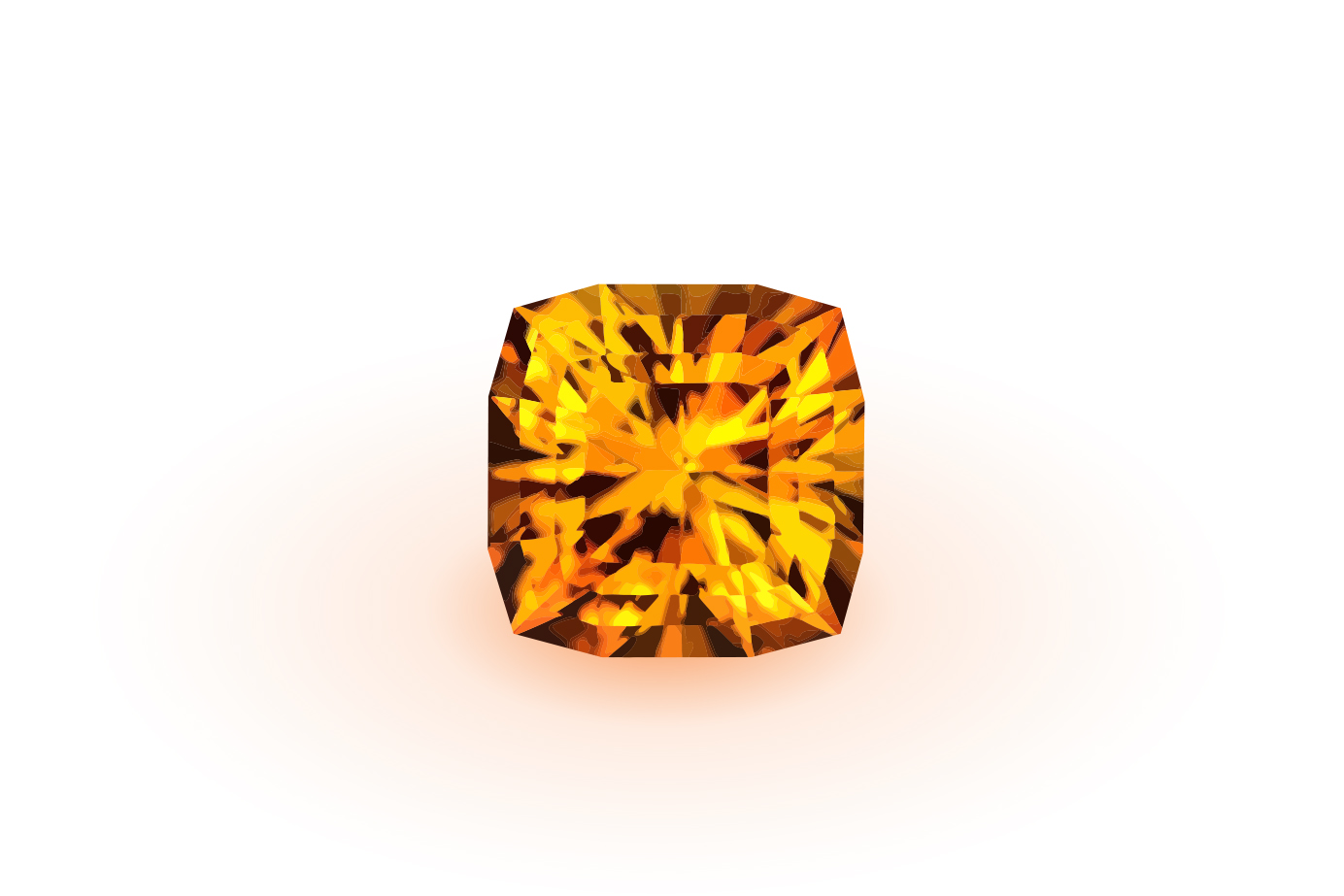 黄金色に輝き 財を呼び寄せるとも言われる11月の誕生石シトリン