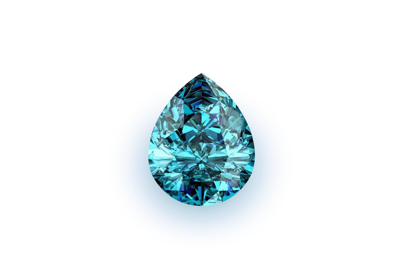 透明なブルーの輝きに魅せられる3月の誕生石アクアマリン