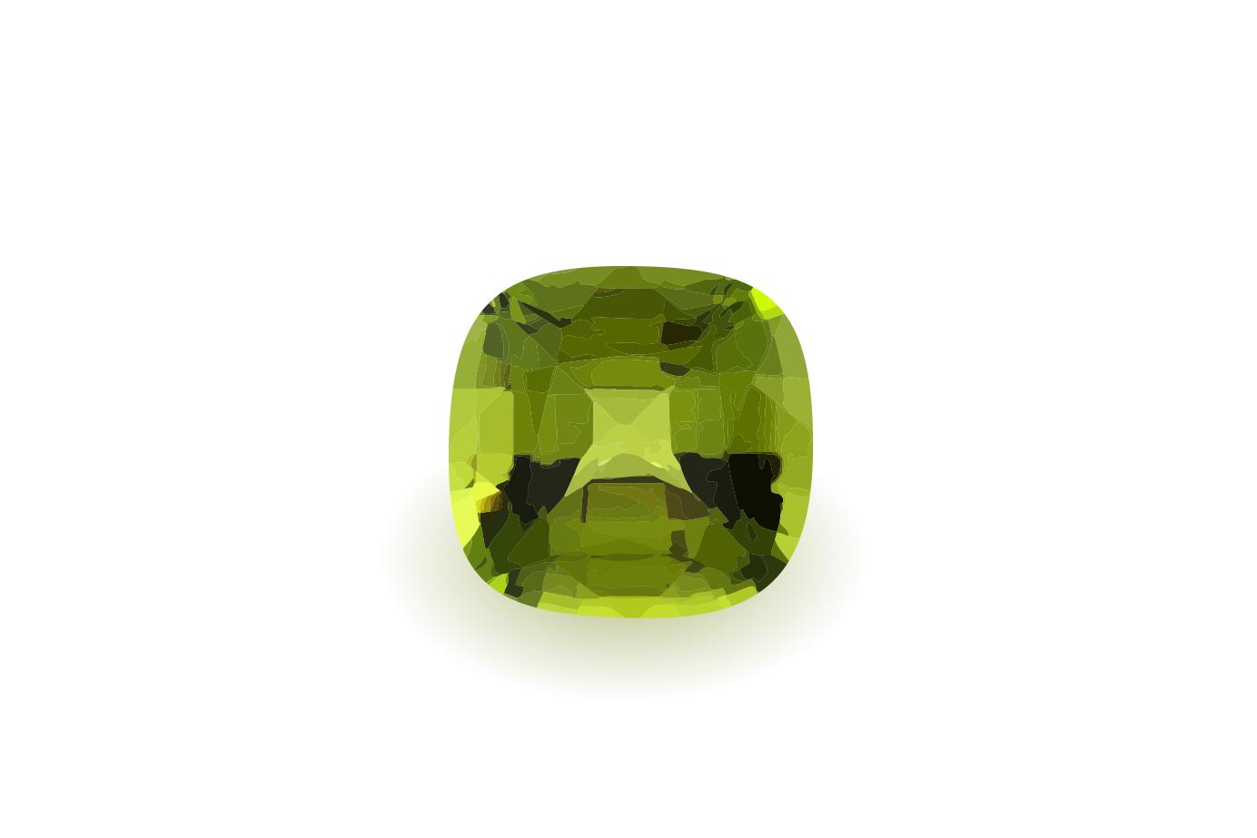 暗くても明るい色を放つ不思議な緑色の宝石 8月の誕生石ペリドット