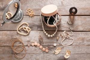真珠イヤリングピアスリング