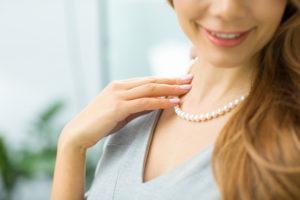 真珠ネックレス選び