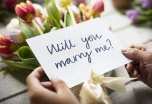 プロポーズはする?しない?